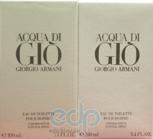 Как легко отличить поддельный - Giorgio Armani - Acqua di Gio pour homme 100  ml  14d005bf228b1