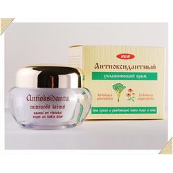 Dzintars (Дзинтарс) - Антиоксодантный увлаж.дневной крем для сухой.и увядающей кожи лица и шеи - 50 ml (21396dz)