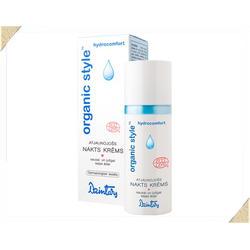 Dzintars (Дзинтарс) - ORGANIC STYLE hydrocomfort Восстанавливающий ночной крем для сухой и чувствительной кожи лица - 50 ml (28365dz)