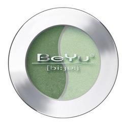 Атласные тени для век BeYu - Duo Eye Shadow №37 Grass Green - Misty Green (brk_349.37)
