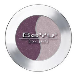 Атласные тени для век BeYu - Duo Eye Shadow №66 Red Grape - Rosewood (brk_349.66)
