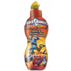 Admiranda Power Rangers -  Гель для душа с ароматом банана -  300 ml (арт. AM 71700)