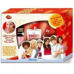 Admiranda High School Musical - для девочек Набор (туалетная вода 50 + блеск для губ 7 + брелок Charm) (арт. AM 74309)