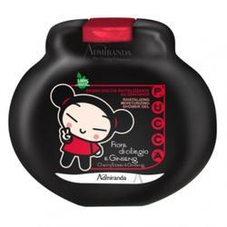 Admiranda Pucca -  Гель для душа увлажняющий, восстанавливающий с ароматом вишневого цветка и женьшени -  300 ml (арт. AM 77011)