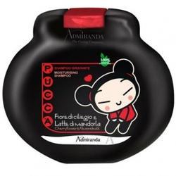Admiranda Pucca -  Шампунь для волос смягчающий с ароматом вишневого цветка и миндального молочка -  300 ml (арт. AM 77013)