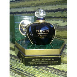 Christian Dior Poison For Women - духи (парфюм)- 7.5 ml флакон со сколом (Vintage)