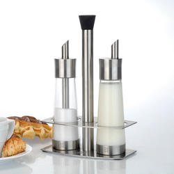 Berghoff -  Набор -  2 предмета (емкость для сахара и сливок) на подставке (арт. 1109718)