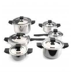Berghoff -  Набор посуды Jupiter с металлическими крышками -  12 предметов (арт. 1112718)