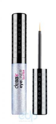 Debby - Подводка для глаз с блестками eyeLINERglitter № 01 - 4.2 g