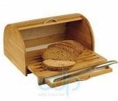 Vinzer (посуда) Vinzer -  Бамбуковая хлебница с выдвижной разделочной доской (арт. 69931)