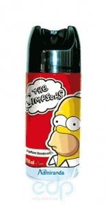 Admiranda Simpsons - Дезодорант-спрей для тела парфюмированный - 150 ml (арт. AM 73132)