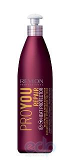 Revlon Professional - Pro You Thermal Protection Shampoo Термозащитный и восстанавливающий шампунь - 1000 ml