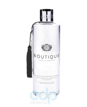 Grace Cole - Гель-пена для душа очищающий, увлажняющий Boutique Bath & Shower Gel White Nectarine & Pear - 500 ml