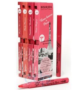 Помада-фломастер для губ Bourjois -  Bons Baisers De Paris №04 Коричнево-Розовый