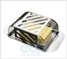 Vinzer (посуда) Vinzer -  Масленка - нержавеющая сталь, акриловая крышка (арт. 69241)