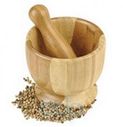Vinzer (посуда) Vinzer -  Бамбуковая ступка - диаметр 12 см (арт. 69924)