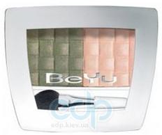 BeYu - Двойные тени для глаз Color Passion Duo №83 Dark Olive/ Pale Peach