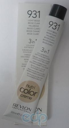 Тонирующий бальзам Revlon Professional - Nutri Color Creme №931 Light Beige/Светло-Бежевый - 100 ml