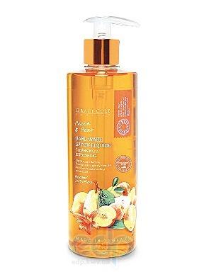 Grace Cole - Мыло для рук жидкое, очищающее, освежающее Hand Wash Peach & Pear - 500 ml