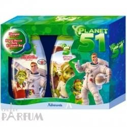 Admiranda Planet-51 -  Набор (шампунь для волос анис и ментол 300 + гель для душа яблоко 300) (арт. AM 75023)