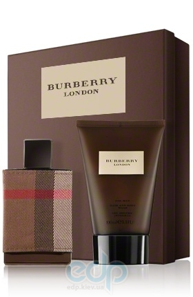 Burberry London For Men -  Набор (туалетная вода 50 + гель для душа 100)