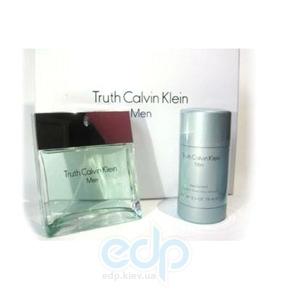 Calvin Klein Truth men -  Набор (туалетная вода 100 + дезодорант стик 75)