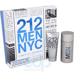 Carolina Herrera 212 For Man -  Набор (туалетная вода 100 + гель после бритья 100)