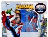 Admiranda Spider-Man - Набор подарочный (Туалетная вода Spider-Man 50 ml + Гель для волос Spider-Man 100 ml + чемоданчик) примятый (арт. AM 73629)