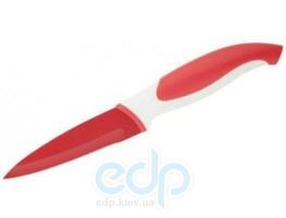 Granchio - Нож для овощей красный - 9 см (арт. 88654)