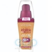 Тональный крем для лица устойчивый L'Oreal - Infaillible 16h №250 Темно песочный - 30 ml