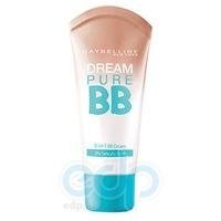Крем-уход для лица с тонирующим эффектом для проблемной кожи Maybelline - BB Dream Pure SPF15 Темно-бежевый 30 ml