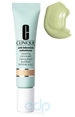 Консилер для лица маскирующий, противовоспалительный Clinique - Anti-Blemish Solutions Сlearing Сoncealer №04 Зеленый - 10ml