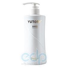 Satico - Шампунь для тонких, ослабленных волос, восстанавливающий с эффектом увеличения объема и придания блеска волосам с включением казеина Satico Yutory Volume & Shine Shampoo - 480 ml