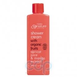 Mades Cosmetics - Крем для душа Signature Series с органическими фруктами c экстрактом абрикоса и манго - 100 ml