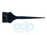 3ME Maestri - Кисть для окрашивания волос с прямой тяжелой черной нейлоновой щетиной Hair Colour Brushes шириной 5.5 cm. Длина кисти: 21.5 cm