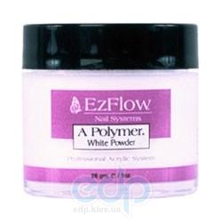 EzFlow - Пудра белая акриловая A-Polymer White Acrylic Powder - 454 г