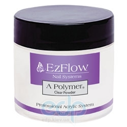 EzFlow - Прозрачная акриловая пудра A-Polymer Clear Acrylic Powder - 113 г