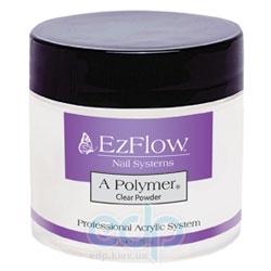 EzFlow - Прозрачная акриловая пудра A-Polymer Clear Acrylic Powder - 28 г