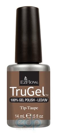 EzFlow - Гель-лак TruGel Tip-Taupe светло-коричневйы с золотыми микроблестками - 14 ml