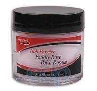 SuperNail (esn) - Розовая акриловая пудра Pink Acrylic Powder - 21 g