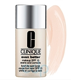 Крем тональный для лица Clinique -  Even Better Makeup SPF 15 №01 Alabaster/neutral pink shade
