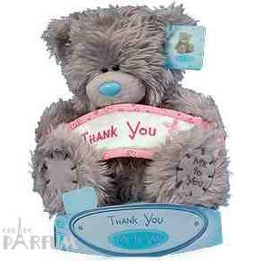 Teddy MTY (мишки) Игрушка плюшевый мишка MTY (Me To You) -  Thank You 15  см (арт. G01W0264)