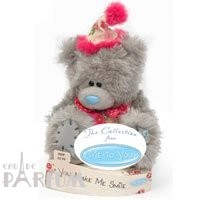 Teddy MTY (мишки) Игрушка плюшевая MTY (Me To You) -  мишка улыбнитесь You Make Me Smile 15 см (арт. G01W1676)
