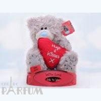 Teddy MTY (мишки) Игрушка плюшевая MTY (Me To You) -  мишка держит сердце Hugs Kisses 15 см (арт. G01W1726)