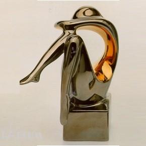 Galos (статуэтки) Статуэтки Galos (Испания) - Мини Криптон - 14 x 14 см. (фарфор, покрытие платиной, золотом)