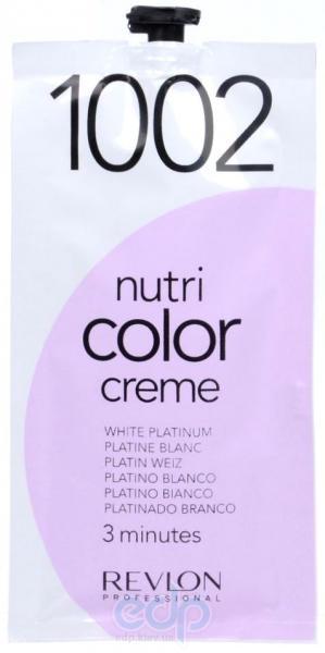 Тонирующий бальзам Revlon Professional - Nutri Color Creme №1002 Platinium/Платиновый - 24 ml