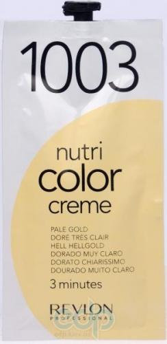 Тонирующий бальзам Revlon Professional - Nutri Color Creme №1003 Very Light Gold/Очень Светло-Золотой - 24 ml