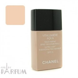 Тональный крем Chanel -  Vitalumiere Aqua SPF15 №BR20 Beige Rose Tendre