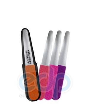 Beter - Пилочка для ногтей эргономичная, лазерная поверхность Viva Revolution - 11 см (7878)