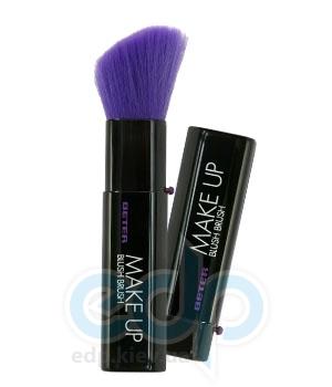 Beter - Кисть автоматическая для нанесения румян Viva Lila Make Up Blush Brush - 12.5 см (7876)